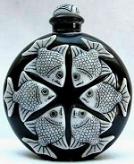 Black Marble Perfume Bottle