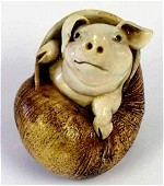 Pig in Snail Shell