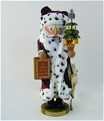 Partridge in a Pear Tree Santa  Nutcracker