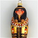 Egyptian Sarcophagus Gold Black