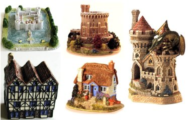 Miniature Cottages -Castles
