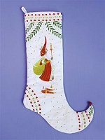 Nicholas Santa Stocking