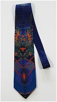 Beauty in Blue Vintage Tie
