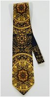 Starry Night Vintage Tie Gold