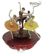 Ballet Pirouette - Greeting Card