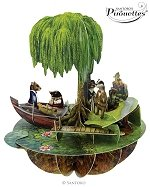 Wind in the Willows - Greeting Card