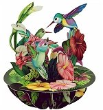 Hummingbirds - Greeting Card