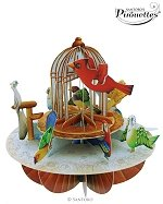 Birdcage Birds - Greeting Card